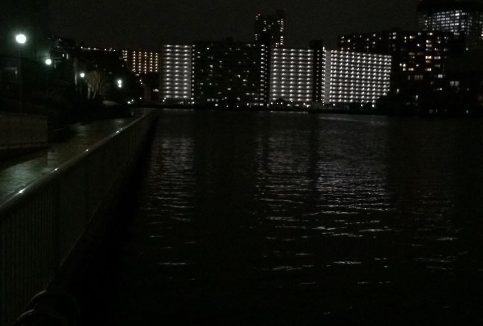 不発に終わった砂町運河