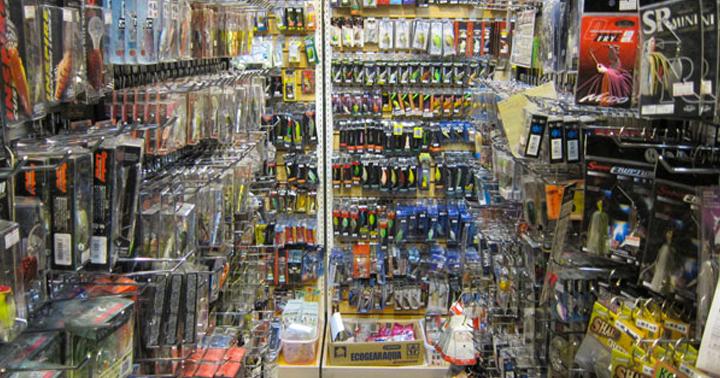 東京にある釣り具店画像