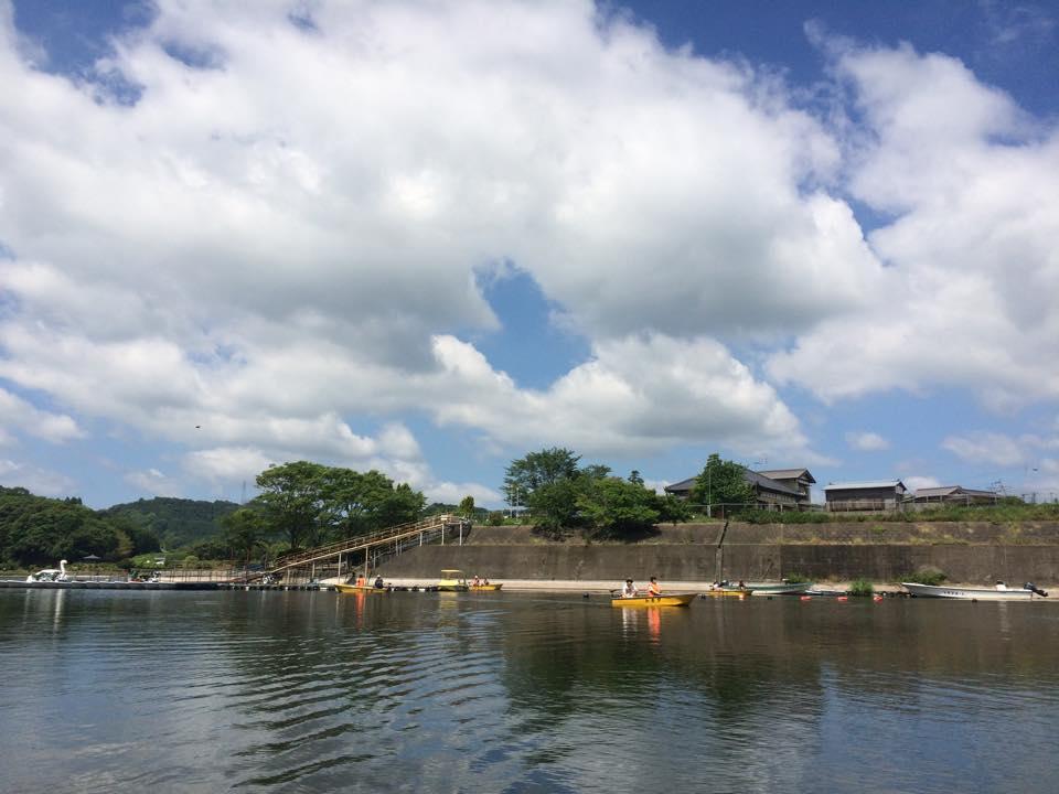 トキタボートの桟橋