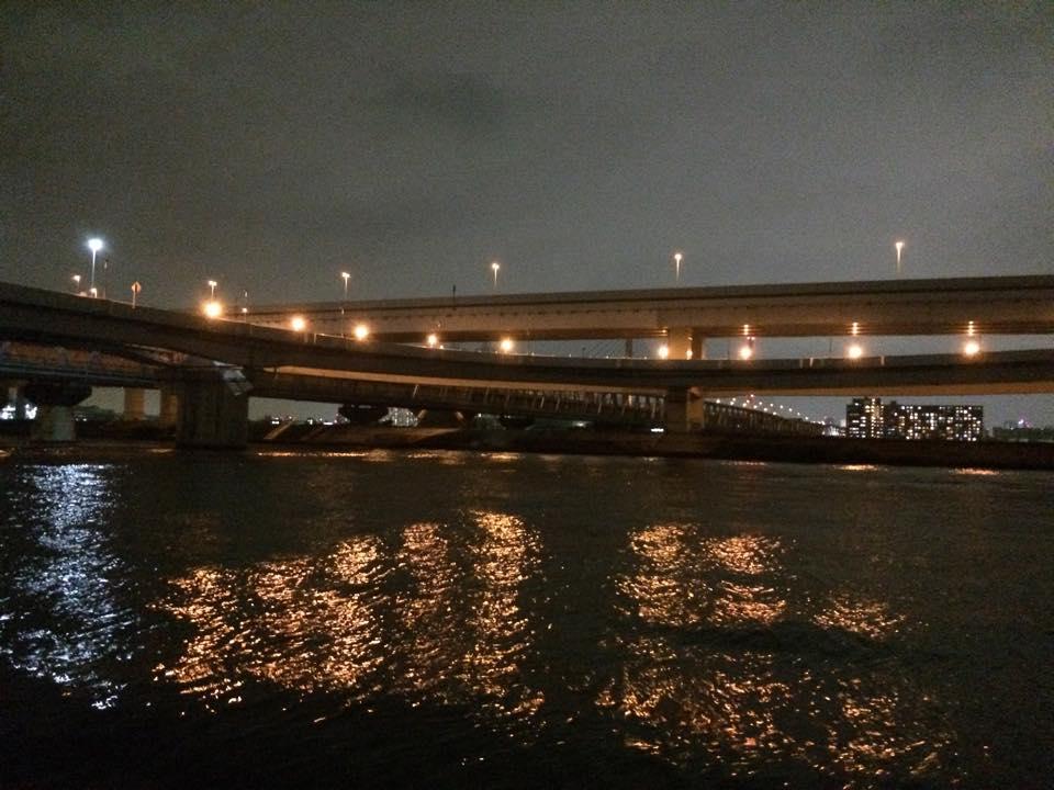 首都高入り口と清砂大橋