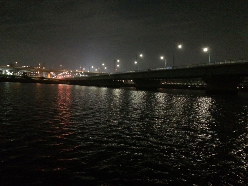 夜の平井大橋