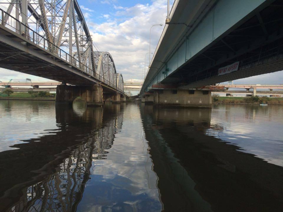堀切橋の下その2