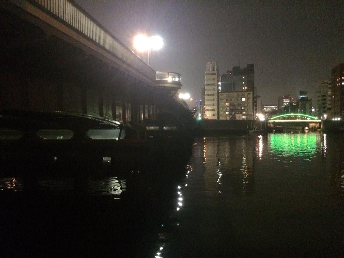両国橋のシーバス釣りポイント