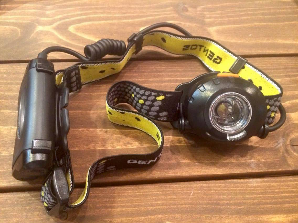 シーバス釣り用ヘッドライト GENTOS HW-999H