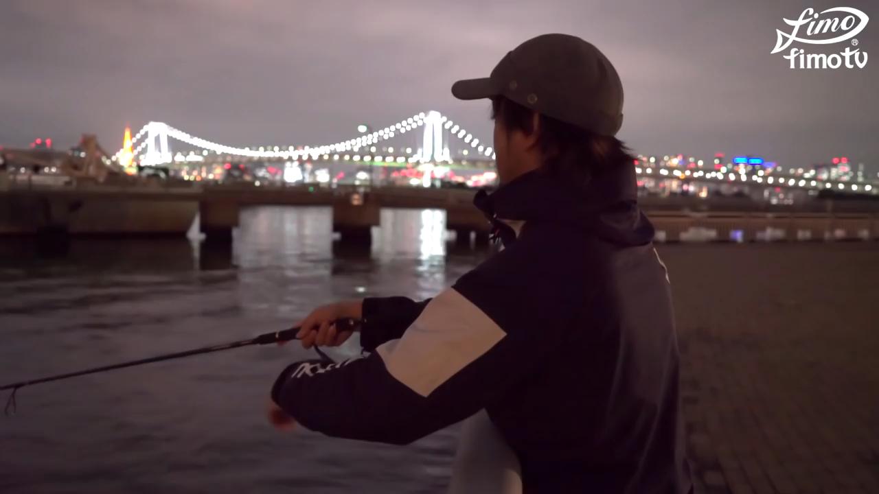 お台場のシーバス釣りポイント 都立潮風公園