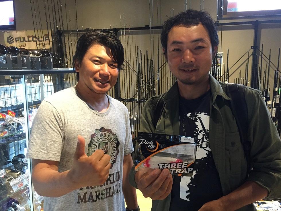 小沼正弥プロとパチリ