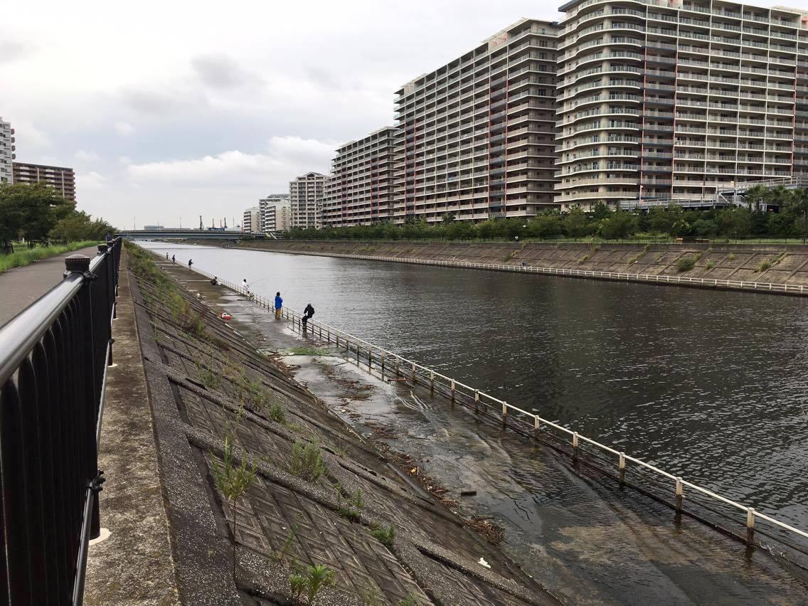 新浦安 境川