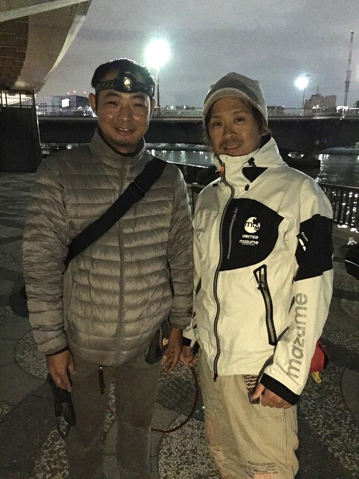 大野ゆうきプロと記念撮影