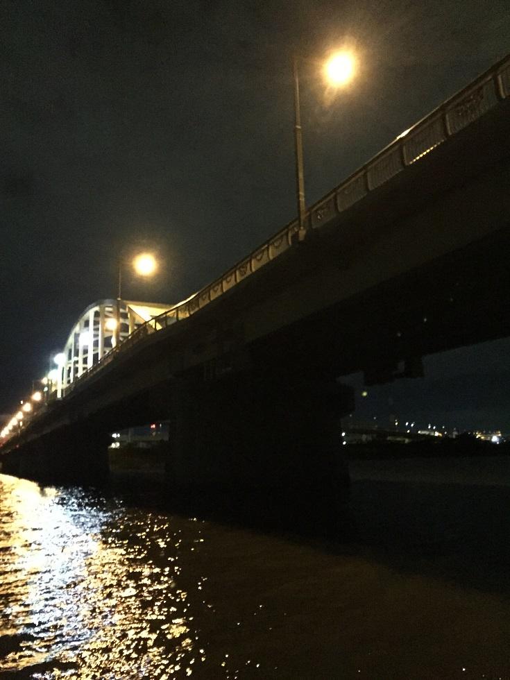 荒川中流域の橋の明暗